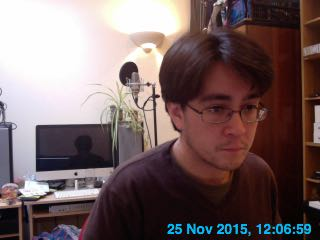 [Webcam image]